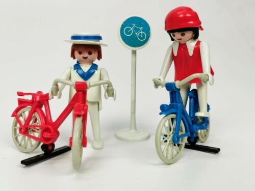 Playmobil® 3573-A 2 Radfahrer Veröffentlicht 1979ohne OVP
