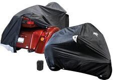 Wasserfest Dreirad Regenschutz Allwetter Harley Honda Suzuki Breit bis zu 165cm
