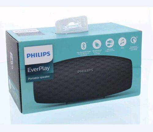 Black BT6900B Philips EverPlay Portable Bluetooth Speaker