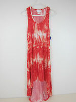 Swimsuits For All Pink Tie Dye Racer Back Dress - Womens 10-12 -