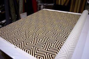 Image Is Loading Iman Home Fabric Banji Sepia 110230 100 Cotton