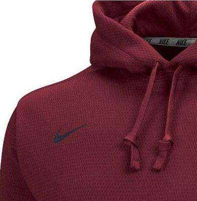 Nike Fleece KO Hoodie Therma-fit XLT  Men/'s Cardinal gray $85.00 Ret.