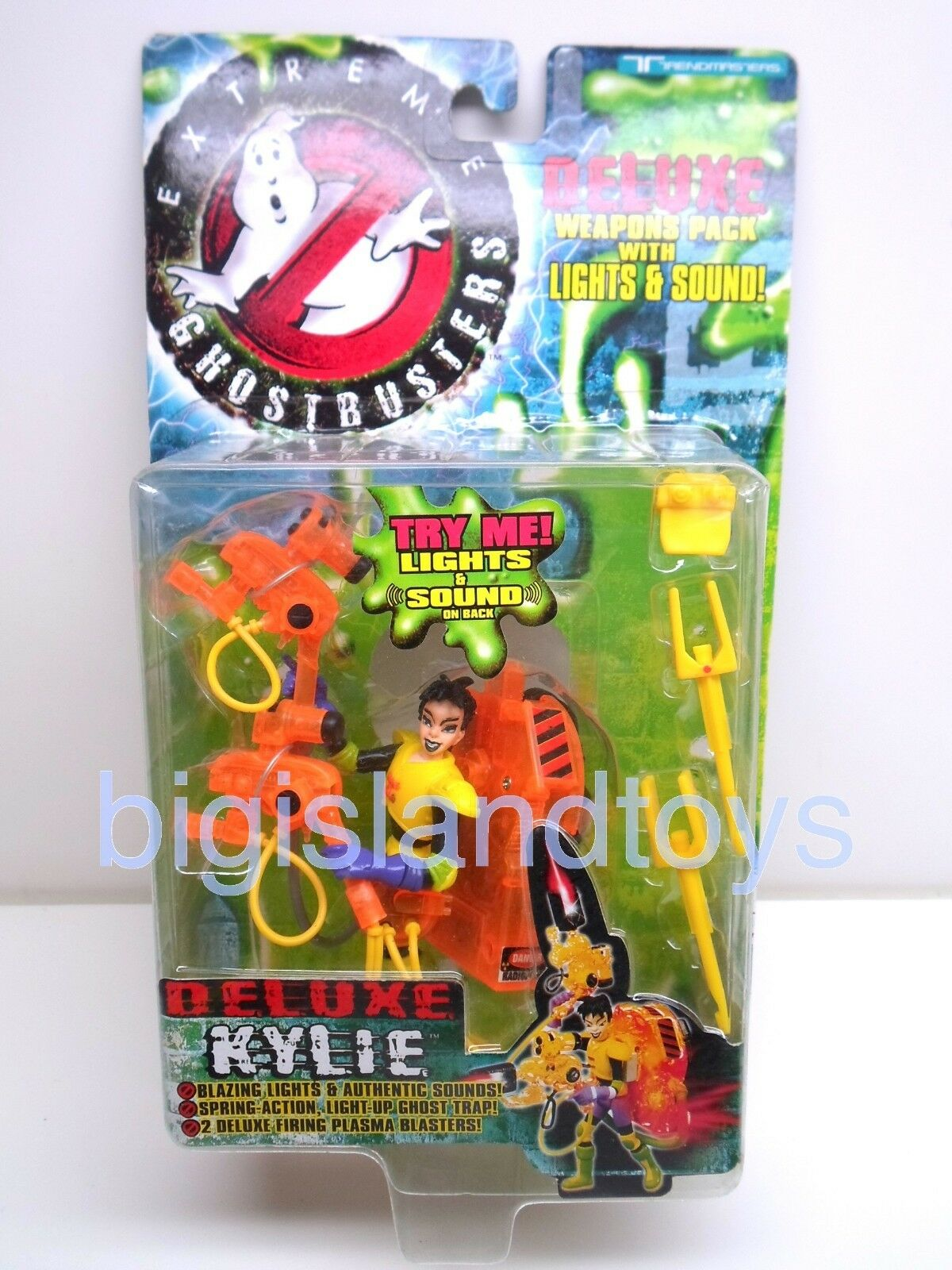 Ghostbusters Extreme Trendmasters 1997 Deluxe Kylie Action Figure Sealed