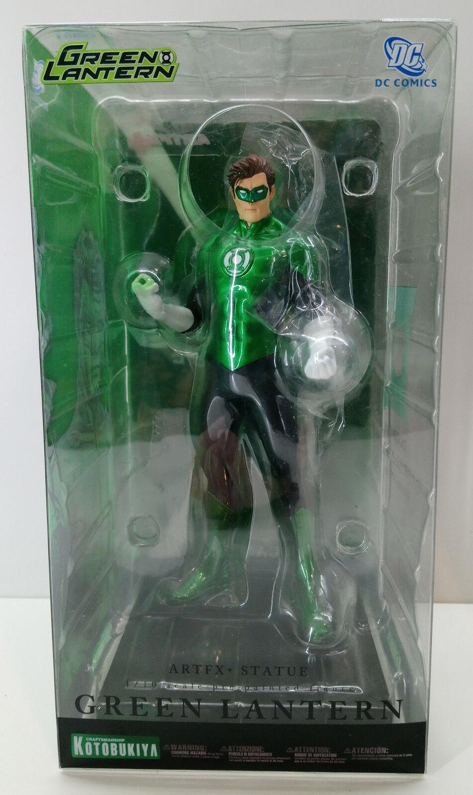 DC Comics verde Lantern Artfx Estatua Kotobukiya Nuevo Liga De La Justicia