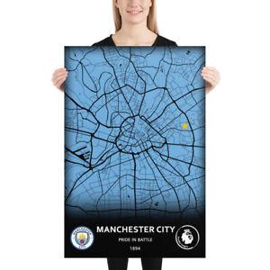 Cartel De Manchester City