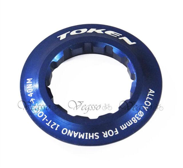 gobike88 TOKEN Lock Ring for Shimano Cassette Blue 12T 022
