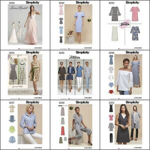 New-Simplicity-Sewing-Pattern-2017-Outfits-Misses-and-Plus-Sizes-You-Pick