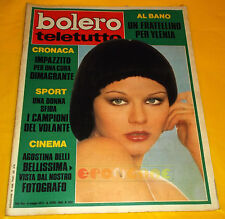 BOLERO FILM 1973 n. 1357 Agostina Belli, Al Bano, Romina Power, Gaia Germani
