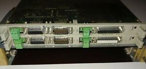 Doux Lot Of 2 Siemens Wf707 6fm1707-3aa10 S5 Cam Controller With 6es5-491-0lb11 -use