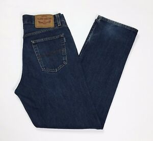 Tom-tailor-jeans-uomo-W31-L30-tg-45-denim-boyfriend-usato-slim-straight-T2833