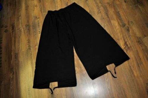 MYO Lagenlook Marlene-palloncino pantaloni cordoncino /& buco BLACK Taglia 4//54,56//XXXL XXXXL