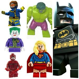 Batman-Joker-Daredevil-Hulk-Spiderman-Marvel-Dc-Super-Hero-lego-Mini-Figures