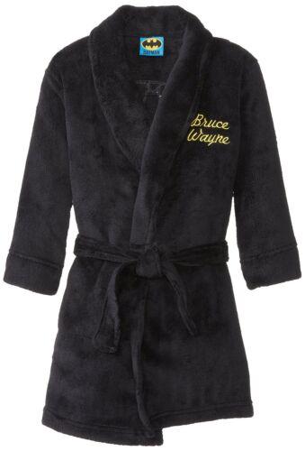 Komar Kids Little Boys/' Batman Bruce Wayne Bathrobe Sleepwear Robes Size Small