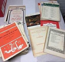Approx 350 books Piano sheet music lot Classical Instructional Russian 58 Pounds