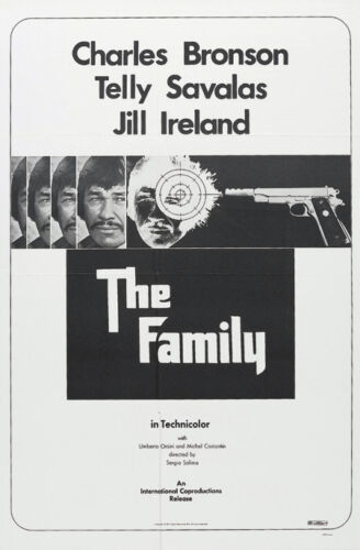 The family Charles Bronson movie poster print