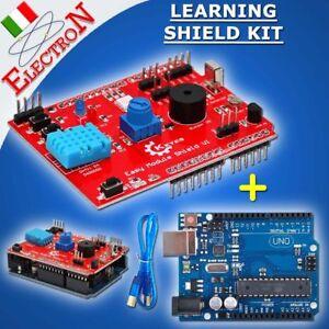 Multi-Purpose Shield V1 Expansion Learning Multifunzione KIT AVR +Arduino UNO R3