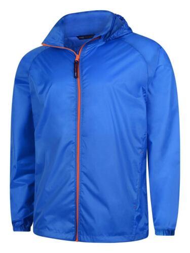 Uneek Active Lightweight Waterproof Breathable Windproof Mens Jacket with Hood