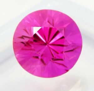 Natural-Certified-Round-Diamond-Cut-9-Cts-Rubylight-Tourmaline-Loose-Gemstone