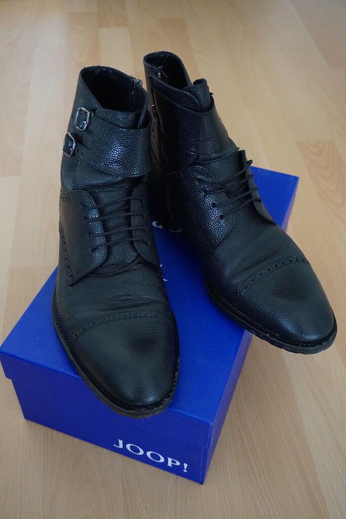 Joop  botas señores caña corta botas Tobillo botas zapatos cuero genuino Joop