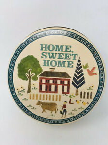 Vintage Home Sweet Home Tin Farm Animals Amish Country