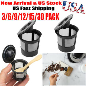 3X-Reusable-Refillable-K-Cup-Coffee-Filter-Pod-for-Keurig-B3-K40-Cuisinart-K-cup