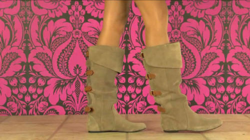 Dolce Vita Brody Desert Sand Suede Leather Buckle Boots / Shoes 6.5