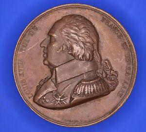 France-medal-LOUIS-XVIII-Medaille-Confirmation-de-la-charte-de-1814-18166