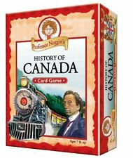 Professor Noggins History of Canada Card Game 2011 Outset Media Complete