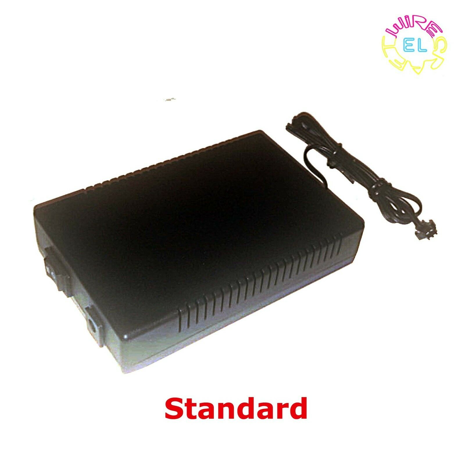 Portable 12v Excel Driver for 20 - 50m of EL Wire - Standard