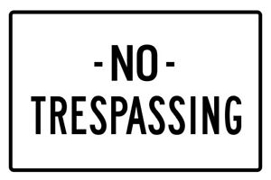 No-Trespassing-Sign-Poster-12x18-inch