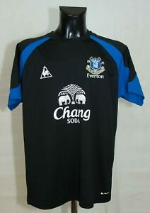EVERTON-TRAINING-FOOTBALL-SHIRT-Le-Coq-Sportif-SIZE-L-EXCL