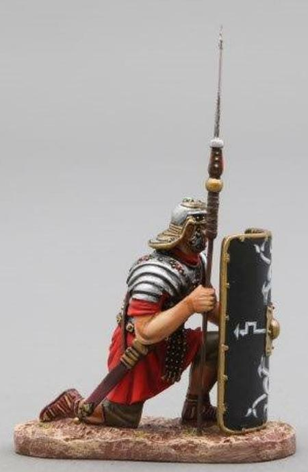 Thomas Gunn Roman Empire ROM012B 30th Legionär Kniend Schwarz MIB