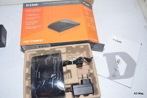 Switch-de-bureau-reseau-LAN-8-ports-10-100-D-LINK-DES-1008D-occasion-boite