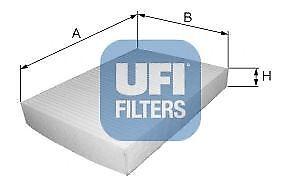 Filtro abitacolo UFI 53.109.00 DAIHATSU FIAT HONDA SUBARU SUZUKI TOYOTA
