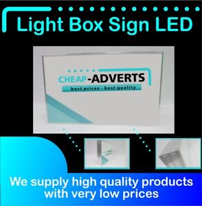 Details about LED Illuminated Light Box/ Shop Signs /Personalised Signbox  Customs 50cm x 40cm