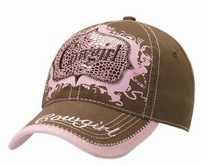 795c61fe6b170 Image is loading Blazin-Roxx-Womens-Western-Metallic-Cowgirl-Cap-Brown-
