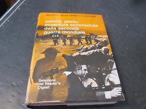 Uomini, Obras, Aventuras Desconocido De Segunda Guerra Mundial - Aa.vv