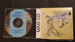 Details about Depeche Mode Everything Counts Mix Work Hard Remix 3 Track  German CD Bong 3