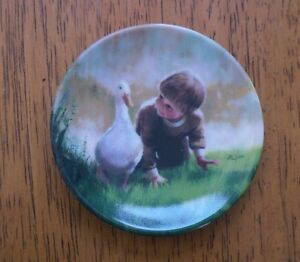 Donald-Zolan-034-Just-Ducky-034-Miniature-Collector-039-s-Plate-1991