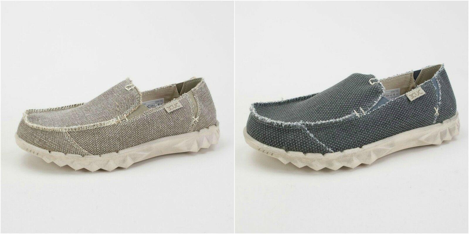 Mens Hey Dude- Farty Braided - Slip Ons - Black & Tundra - Great Price!