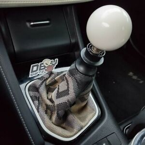Manual Gear Gaiter Shift Boot Black Italian Suede With Grey Stitch