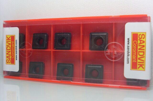 10x Wendeplatten Wendeschneidplatten SANDVIK 880-07 04 W10H-P-LM 4334