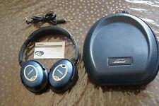 Bose QuietComfort 15 Ohrbedeckend Kopfhörer QC15 Limited Edition Blau