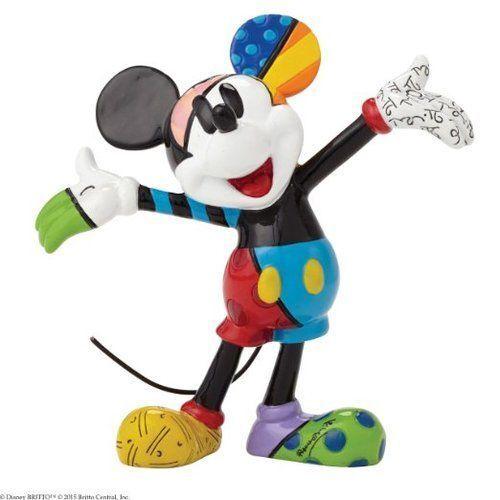 Enesco Disney by Britto Mickey Mouse Mini Figurine