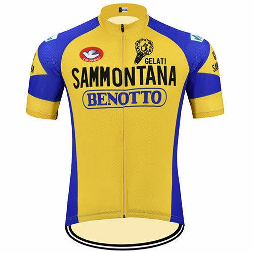 Cycling Short Sleeve Jersey SAMMONTANA BENOTTO Cycling Jersey