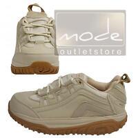WALKMAXX Fitness Outdoorschuhe 38 Beige Runde Sohle Schuhe Atmungsaktiv 8481