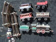 Locomotive à vapeur vive tender wagons Bing GBN Bavaria train 1912 échelle O