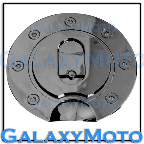 04-08 FORD F150 F-150 Triple Black Chrome Plated ABS Gas Tank Fuel Door Cover