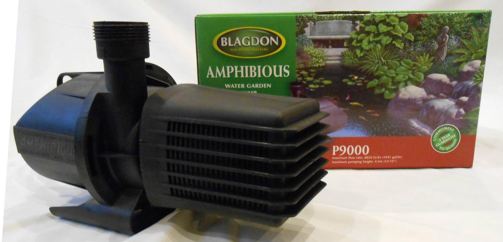 Prezzo di vendita Blagdon ANFIBIO POMPA STAGNO P9000 8820 LT HR per stagno di Koi