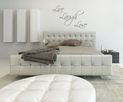 Home Decor Live Laugh Love Wall Art Sticker Home Lounge Living Room Bedroom Wall Decal Diy Home Furniture Diy Breadcrumbs Ie